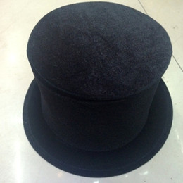 Wholesale Velvet Top Hat - Wholesale-Free shipping magic Folding top magic hat magic tricks cap Dense velvet hat