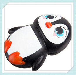 Wholesale penguin for sale - sale promotion Penguin Squishies Jumbo Squishy Penguin Kawaii Animal Slow Rising Phone Charms Kid Toy Christmas Gift Stress Relief Toys DHL
