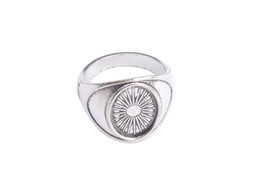 Wholesale Wholesale Silver Ring Blanks - 10 PCS Antiqued Silver Base Ring Blank Settings 14x10mm #91314
