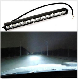 Wholesale Led Car Driving Lights - 13INCH 36W COMBO LED LIGHT BAR OFFROAD DRIVING LAMP WORK SUV ATV CAR 4WD JEEP hot