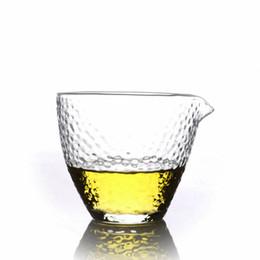 tea crystals Australia - 1 x 7.78 fl.oz  230ml Cha Hai Japanese-style Crystal Heat Resistant Glass Tea Pitchers Cups Drop Shipping