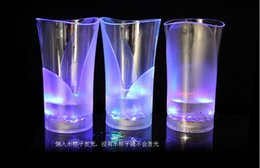 Wholesale Cut Vase - NEW ARRIVAL LED glasses, water cup,Luminous cup LED water glass creative glass cup Vase cup