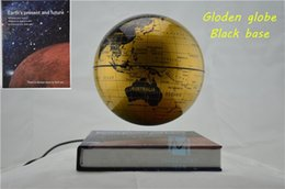 Wholesale Levitation Globe - 6 Inch Creative Magnetic Levitation Floating Globe World Map the Best Desktop Decor Christmas Company anniversary gift