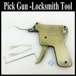 l outil de sélection Promotion Le pistolet de sélection manuel de l'outil de serrurerie ouvre la plupart des verrous à clé, déverrouille le kit des deux côtés des serrures de la voiture à dents