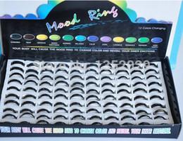 Wholesale Mood Ring Color Change - Wholesale-WHOLESALE LOT ! 100PCS MOOD RINGS !! COLOR CHANGE
