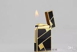 Canada STD upont briquet acheté cuivre entier dire laque chinoise et doré diagonale fortune 16886 cheap lacquer copper Offre