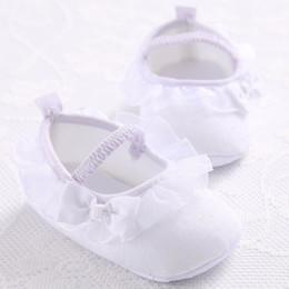 Wholesale Big Jane - Wholesale-2015 New Sweet Light Big Bow Newborn Baby Girls Prewalker Shoes Princess Mary Jane Ballet Dress Anti-slip Soft Solid Shoes
