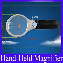 Wholesale Big Magnifier - Handheld Magnifier Magnifying Big Glass Lens Reading MOQ=1 free shipping