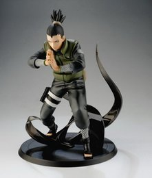 Shikamaru figur online-Naruto shippuden nara shikamaru pvc action figure sammeln modell spielzeug japan anime 15 cm mit kleinkasten