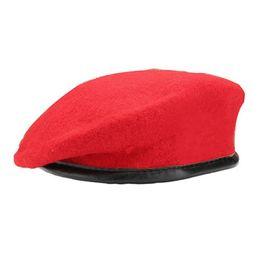 Wholesale Cap Artist - 2018 Russian Fashion Berets Unisex Military Army Soldier Hat Men Women Wool Beret Uniform Cap Classic Artist Winter Caps For Mens