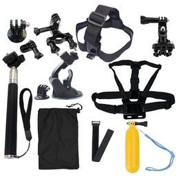 Wholesale Diving Kit - Action Cam Accessories 13 in 1 Family Kit SJ4000 SJ5000 SJ6000 accessories set package for HD Action Cam xiaomi yi