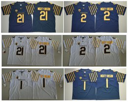 Wholesale College Football Games - 2016 Oregon Ducks Spring Game Mighty Oregon 21 1 Weebfoot 2 Weebfoot 100th Rose Bowl Game Elite Jersey NCAA College football jerseys