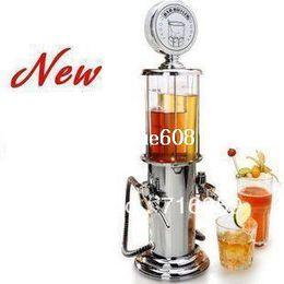 Wholesale Mini Drink Machine - FREE SHIPPING double gun barware mini beer pourer water liquid drink dispenser wine pump dispenser machine