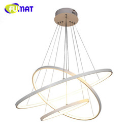 Wholesale Hanging Lights For Bedroom - FUMAT Modern LED Simple Pendant Lights For Living Room Cristal Lustre Pendant Hanging lamparas de techo colgante moderna lampe