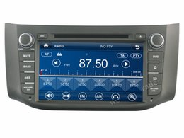 "Wholesale Nissan Sylphy Dvd - HD 2 din 8"" Car Radio Car DVD Player for Nissan SYLPHY   B17 2012-2014 With GPS Navigation Bluetooth IPOD TV SWC USB AUX IN"