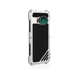Wholesale impact protectors - For Samsung S8 Phone Case Screen Protector Dustproof Waterproof Dust proof High Impact Aluminum Alloy Case With 3 Separated Camera Lens Kit