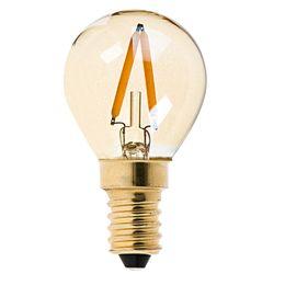 Wholesale Epistar Cob Dimmable - Gold Tint,G40 Globe LED Filament Bulb,1W,E12 E14 Base,Ultra warm white 2200K,Decorative Lighting,Dimmable
