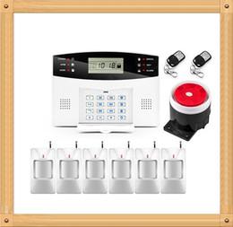 Systèmes d'alarme de sécurité câblés en Ligne-Système d'alarme authentique Wolf Guard APP Contrôle de l'alarme antivol Zones sans fil et filaires Système d'alarme GSM Sécurité à domicile