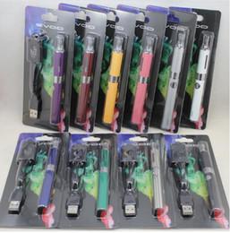 Wholesale Ego Starter Kit Bcc - EVOD BCC MT3 Starter Blister kits pack Electronic Cigarette kits mt3 Rechargable atomizer eVod Battery 650mah 900mah 1100mah VS ego ce4 kits