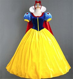 Wholesale Xxl Hot Lovely - Snow White clothing accessories of the sell like hot cakes is dressed up lovely adult size performance clothing cartoon Christma