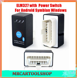 obd2 elm327 work for isuzu Canada manufacturers - 2015 Super Quality Bluetooth ELM327 OBD2 OBD-II CANBUS Diagnostic Car Scanner Tool+Power Switch works on Android Symbian Windows