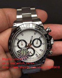 Wholesale Swiss Automatic Movement Chronograph - 3 Color Best Edition Watch JF Factory Luxury 40mm Cosmograph 116506 116520 116509 116500 Swiss ETA 7750 Movement Chronograph Mens Watches