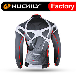 Wholesale Thermal Wear For Men - Nuckily New arrival fleece jersey clothing manufacturer for cycling wear Hot selling with nice quality thermal fleece jersey for men