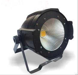 Wholesale led par can lights - 100W LED COB Par Warm White  Natural White Indoor DJ Par Can Light PhCamera TV Station Light Stage Decoration LLFA