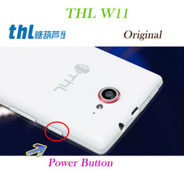 Wholesale Thl W11 Phone - Wholesale-Replacement Parts Original Power Button Key for THL W11 Mobile Phone Free Shipping