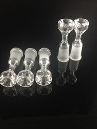 Wholesale cutting quartz - Wholesale Domeless Quartz nail 14mm 18mm female domeless ST-716 with 8-cuts oil rig nail free shipping