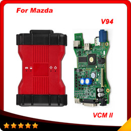 Wholesale vcm ii - 2016 High Quality VCM2 Diagnostic Scanner For Ford VCM II IDS Support 2015 Vehicles IDS VCM 2 OBD2 Scanner Free shipping