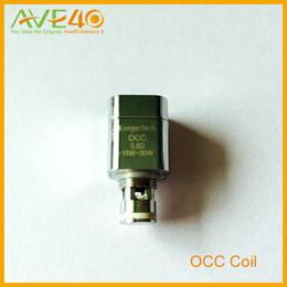 Bobina occ original on-line-HOT! Kanger e cigarro Subtank OCC Bobina Algodão Orgânico bobinas 0.5 ohm (15 w-30 w) 1.2 ohm (12 w-25 w) para o transporte livre original subtank de AVE40