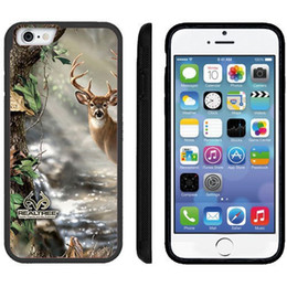 Wholesale Galaxy S4 Camo - Real Tree Deer Camo cell phone case for iPhone 4s 5s 5c 6 6s Plus ipod touch 4 5 6 Samsung Galaxy s2 s3 s4 s5 mini s6 edge plus Note 2 3 4 5