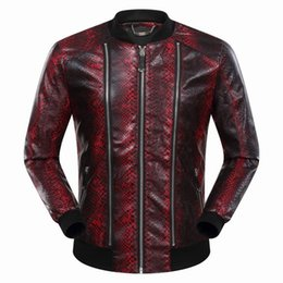 Wholesale Hottest Winter Clothes - 2018 Autumn Winter Hot Sale Long Sleeve Genuine Leather Jacket Casual Fashion Hip Hop Luxury Man Jacket Clothing #9056