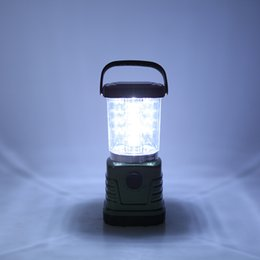 Wholesale Water Resistant Led Lamp - 120 Lumens Super Bright 16 LED Camping Lantern Outdoor Portable Lights Water Resistant Dimmable Camping Light Lamp