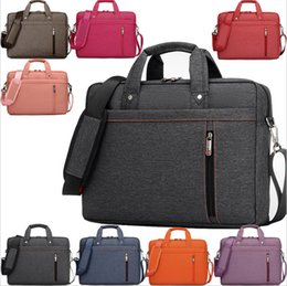 Wholesale Macbook Messenger - Special price12 13 14 15 15.6 17 17.3 Inch Waterproof Computer Laptop Notebook Tablet Bag Bags Case Messenger Shoulder for Men Women