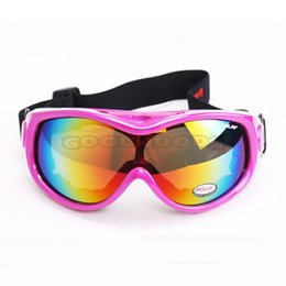 Wholesale Motorcycle Colours - Wholesale-2015 new POLISI P305C-WH Motorcycle Bike ATV Motocross Ski Snow Snowboard Off-road ski glass coloured Lens Free shipping