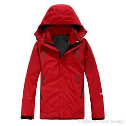 Wholesale Mens Face Jackets - The North windbreaker jacket Face winter jacket mens clothes warm waterproof men soft coat outdoor sports charging jacket Hiking Camping hot