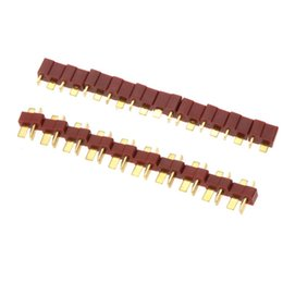 Wholesale Lipo Batteries For Rc Planes - 10 Pairs Universal RC Plane Part T Plug Male and Female Connectors for RC Lipo Battery ESC order<$18no track