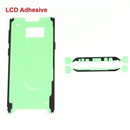 Adhesivo de bisel online-Cinta adhesiva de cuadro para Samsung Galaxy S8 Plus G955 Carcasa de bisel de pantalla LCD Etiqueta adhesiva doble para Samsung S8 G950 g950F