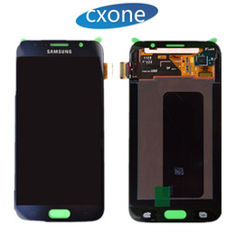 Wholesale Galaxy Repair - Original Quality Wholesale Price For Samsung Galaxy S6 Lcd Digitizer Display Screen Assembly Repair Part Blue & white & Gold Free Shipping