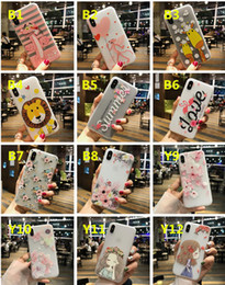Wholesale Panther Cover - 3D Relief Case Cartoon Matte Frosted Slim Silicone Soft Shockproof Cherry Blossoms Pink Panther Pattern Cover For iPhone X 8 7 Plus 6 6S