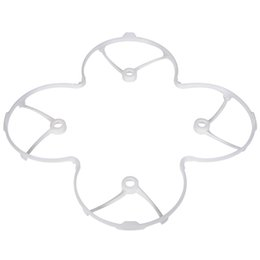 Wholesale Protect Helicopter - Wholesale Hubsan X4 H107 H107L V252 RC Quadcopter Parts Protect Cover White