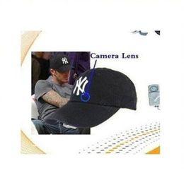 Wholesale Hidden Video Camera Hat - 8GB Cap Hat spy Camera Baseball Cap Hat hidden camera video Camcorder with Remote Control outdoor Mini DVR Video Recorder
