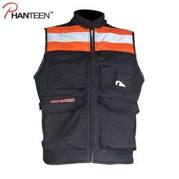 Wholesale Armor Vests - Fall-Fox Motocross Protector Man Vest Body Armor Equipment Fluorescence Safety Men Motorcycle Chaquetas