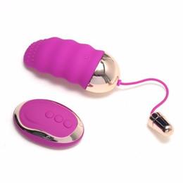 Wholesale Wireless Remote Control Love Egg - Usb Rechargeable 10 Speed Remote Control Wireless Vibrating Sex Love Eggs Vibrator Sex Toys For Women ,Purple Black Erotic Toys