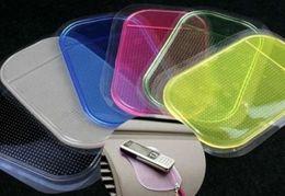 Wholesale Anti Slide Pads - Magic Sticky Pad Anti Slide Non Slip Car Dash Gel Mat Cell Phone Wholesale 50pcs lot
