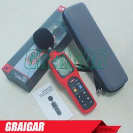 Wholesale Data Log - Digital Sound Level Meter dB Decibel Meter Noise Monitor Tester Measuring Analysing w  Data Logging & Recall UNI-T UT352