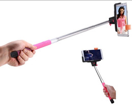 Wholesale pole phone - Bluetooth self timer pole for mobile phone,The most sell Camera Handheld Extendable Monopod Selfie Stick good Telescopic 50pcs lot
