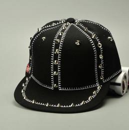Wholesale New Snapback Era - 2016 new fashion era snapback baseball caps men and women Hip-hop baseball caps rivet Korea sports baseball hat